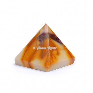 Fancy Agate Pyramid