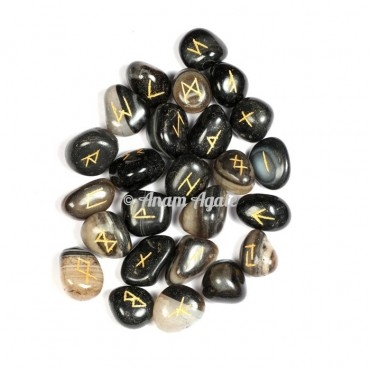 Black Onyx Rune Set