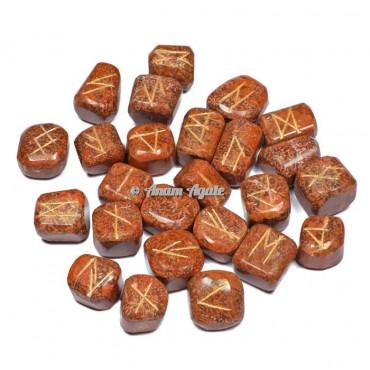 Snake Jasper Rune Set