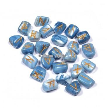 Blue Opal Rune Set
