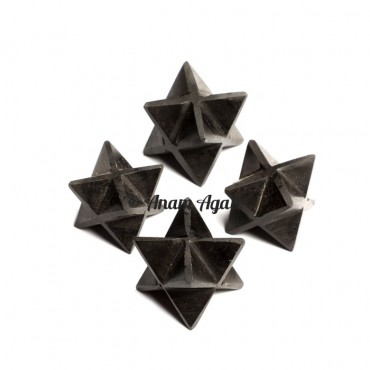 Black Tourmaline Merkaba Star