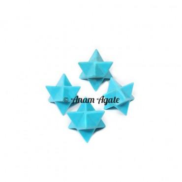 Turquoise Merkaba Star