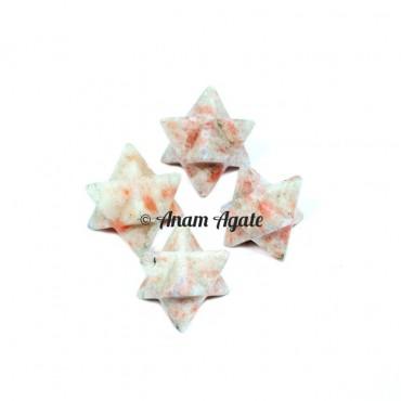 Sunstone Merkaba Star