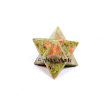 Unakite Merkaba Star