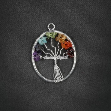 Tree of Life Pendant in Oval shape
