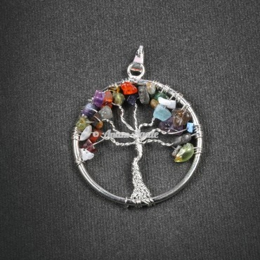 Tree Of Life Pendant in Circle Shape