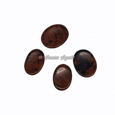 Mahogany Obsidian Worry Stone