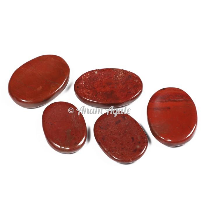 Red Jasper Worry Stone